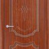 Межкомнатная дверь ПВХ Лира 1 белый 1