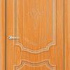 Межкомнатная дверь ПВХ Лира 7 дуб шоколадный 2