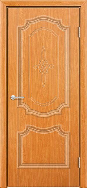 Межкомнатная дверь ПВХ Лира 6 миланский орех 3