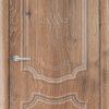 Межкомнатная дверь ПВХ Лира 5 светлый орех 2