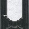 Межкомнатная дверь ПВХ Лира 1 дуб шоколадный 1