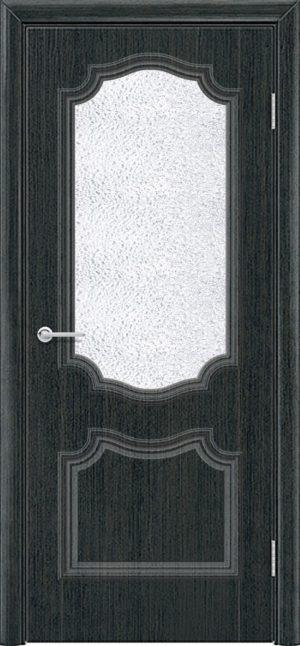 Межкомнатная дверь ПВХ Лира 6 венге патина 3