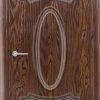 Межкомнатная дверь ПВХ Лира 6 миланский орех 1