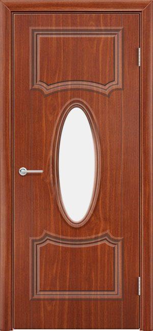 Межкомнатная дверь Лира 7 итальянский орех 3