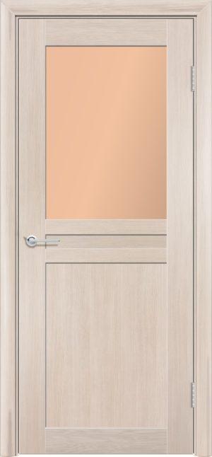 Межкомнатная дверь финиш пленка S 10 капучино 3