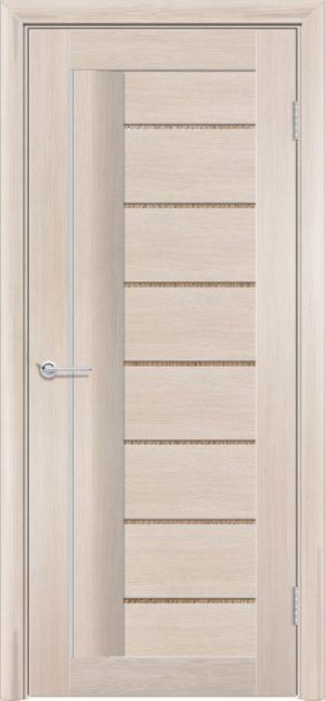 Межкомнатная дверь финиш пленка S 11 капучино 3