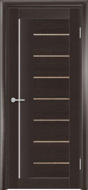 Межкомнатная дверь финиш пленка S 11 каштан 3