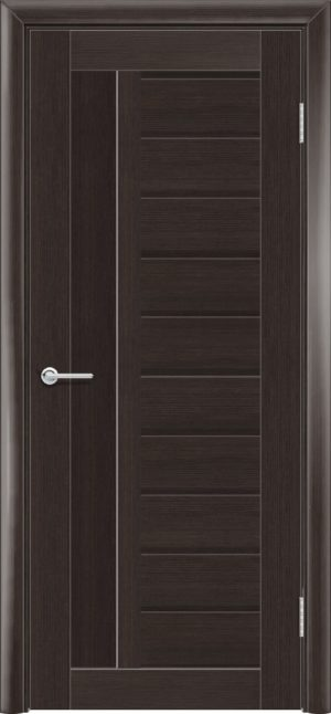 Межкомнатная дверь финиш пленка S 13 каштан 3