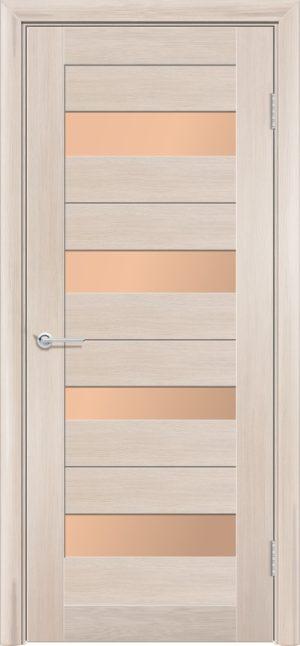 Межкомнатная дверь финиш пленка S 14 капучино 3