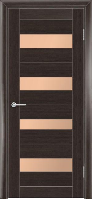 Межкомнатная дверь финиш пленка S 14 каштан 3
