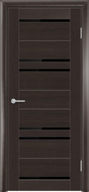 Межкомнатная дверь финиш пленка S 16 каштан 1