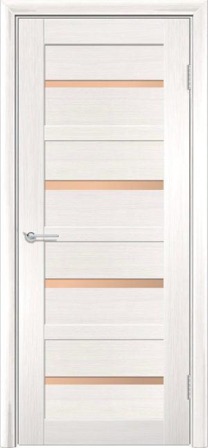 Межкомнатная дверь финиш пленка S 17 акация 3