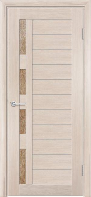 Межкомнатная дверь финиш пленка S 25 капучино 3