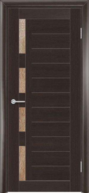 Межкомнатная дверь финиш пленка S 25 каштан 1