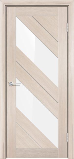 Межкомнатная дверь финиш пленка S 27 капучино 1