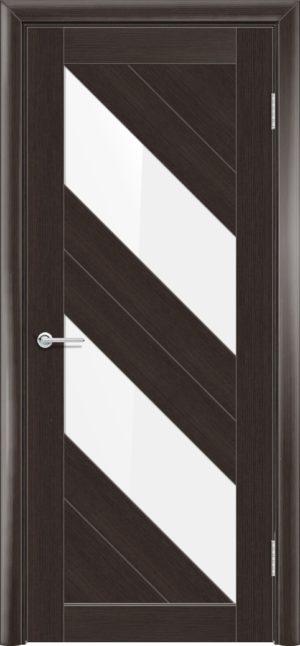 Межкомнатная дверь финиш пленка S 27 каштан 1