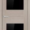 Межкомнатная дверь финиш пленка S 25 капучино 1