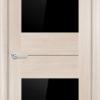 Межкомнатная дверь финиш пленка S 3 капучино 1