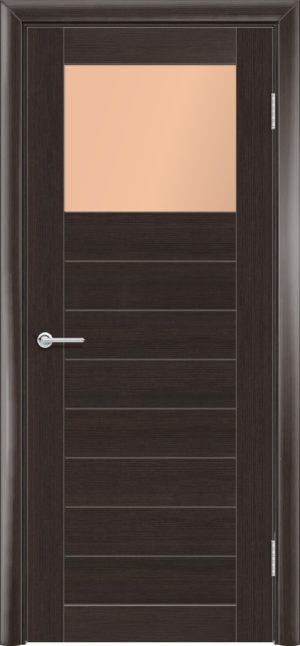 Межкомнатная дверь финиш пленка S 35 каштан 3