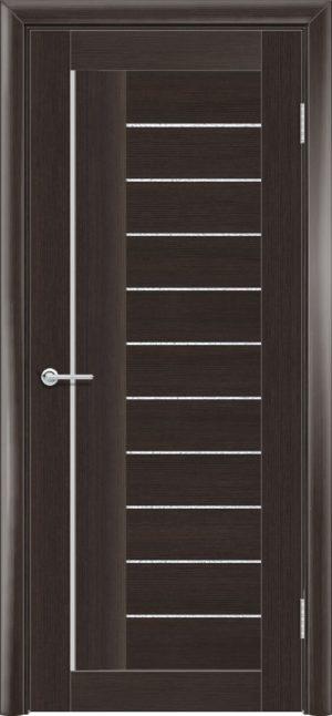 Межкомнатная дверь финиш пленка S 38 каштан 3