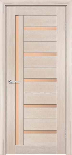 Межкомнатная дверь финиш пленка S 39 капучино 1