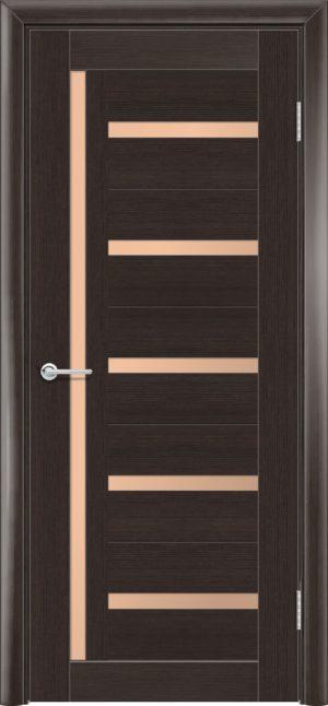 Межкомнатная дверь финиш пленка S 39 каштан 1