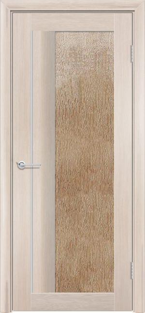Межкомнатная дверь финиш пленка S 41 капучино 3