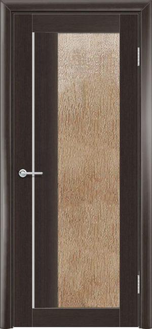 Межкомнатная дверь финиш пленка S 41 каштан 3