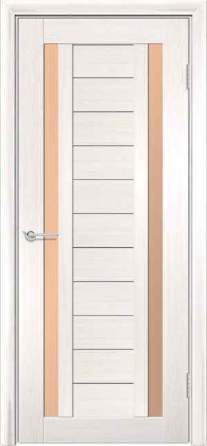 Межкомнатная дверь финиш пленка S 6 акация 1
