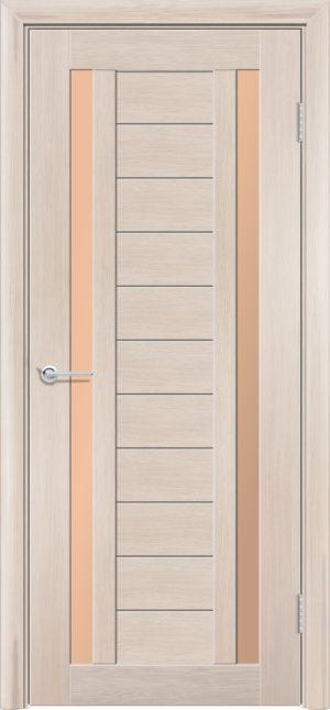 Межкомнатная дверь финиш пленка S 6 капучино 3