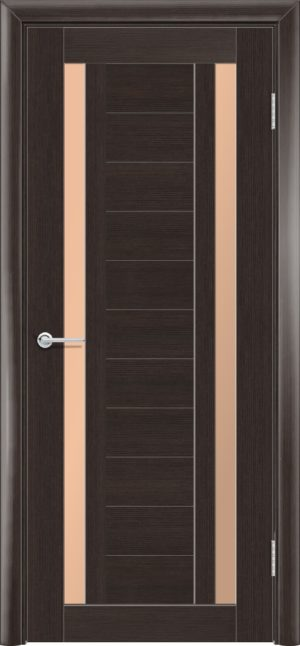 Межкомнатная дверь финиш пленка S 6 каштан 3