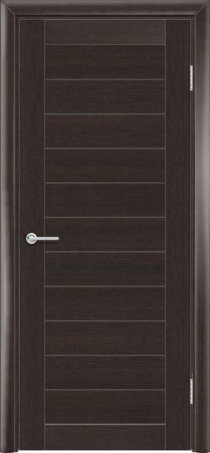 Межкомнатная дверь финиш пленка S 7 каштан 1