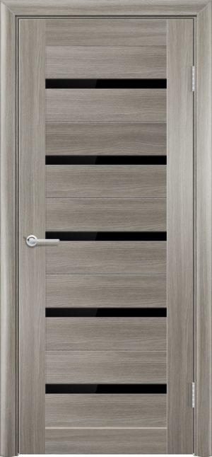 Межкомнатная дверь ПВХ S 1 дуб дымчатый 3