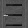 Межкомнатная дверь ПВХ S 3 лиственница беленая 1