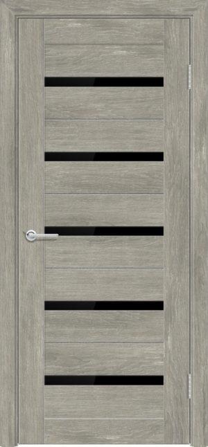 Межкомнатная дверь ПВХ S 1 дуб седой 3