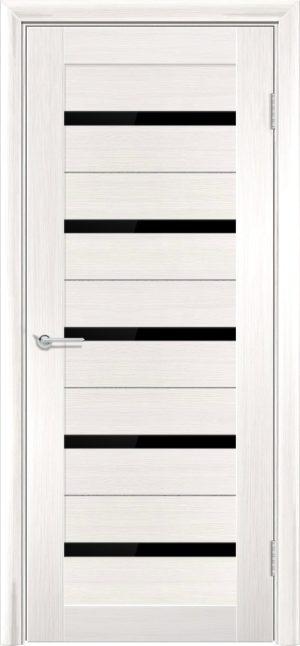 Межкомнатная дверь ПВХ S 1 лиственница беленая 3