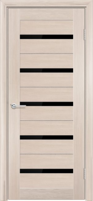 Межкомнатная дверь ПВХ S 1 лиственница кремовая 3