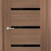 Межкомнатная дверь ПВХ S 2 дуб дымчатый 1
