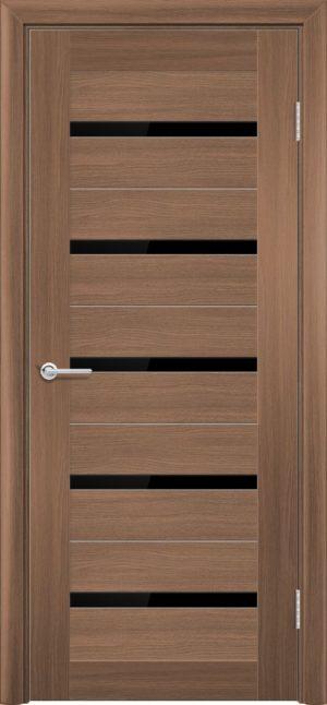 Межкомнатная дверь ПВХ S 1 орех королевский 3