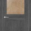 Межкомнатная дверь ПВХ S 28 лиственница кремовая 2
