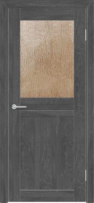 Межкомнатная дверь ПВХ S 10 дуб графит 3