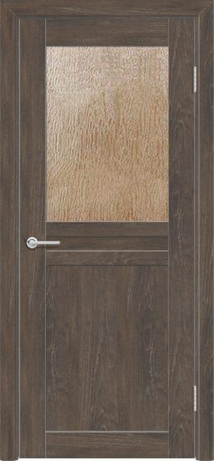 Межкомнатная дверь ПВХ S 10 дуб корица 3