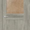 Межкомнатная дверь ПВХ S 25 дуб графит 1
