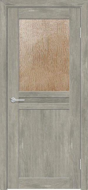 Межкомнатная дверь ПВХ S 10 дуб седой 3