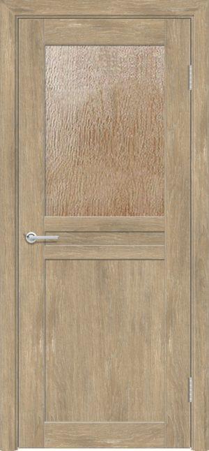 Межкомнатная дверь ПВХ S 10 дуб шале 1