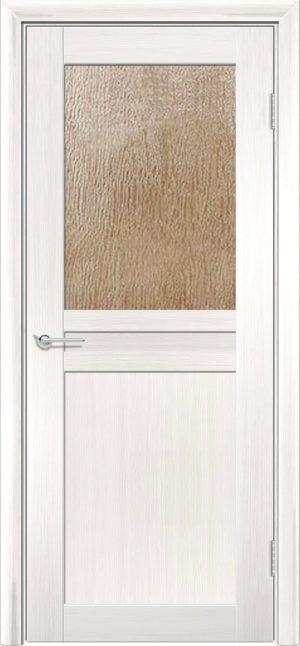 Межкомнатная дверь ПВХ S 10 лиственница беленая 3