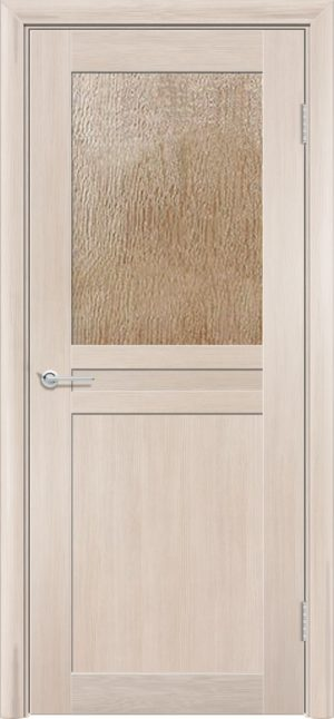 Межкомнатная дверь ПВХ S 10 лиственница кремовая 3