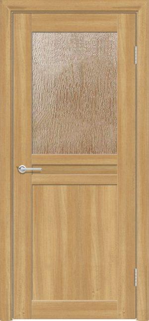 Межкомнатная дверь ПВХ S 10 лиственница золотистая 3