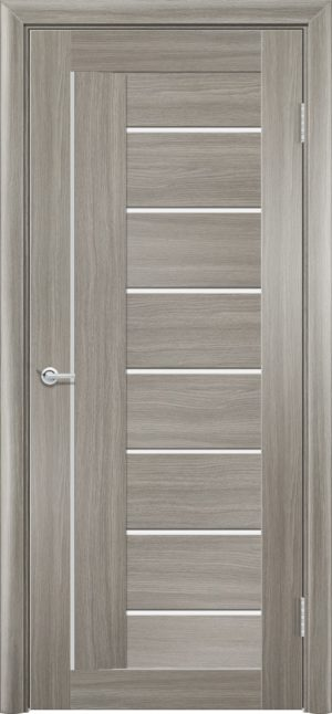 Межкомнатная дверь ПВХ S 11 дуб дымчатый 1
