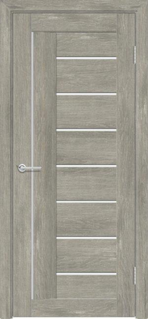 Межкомнатная дверь ПВХ S 11 дуб седой 1